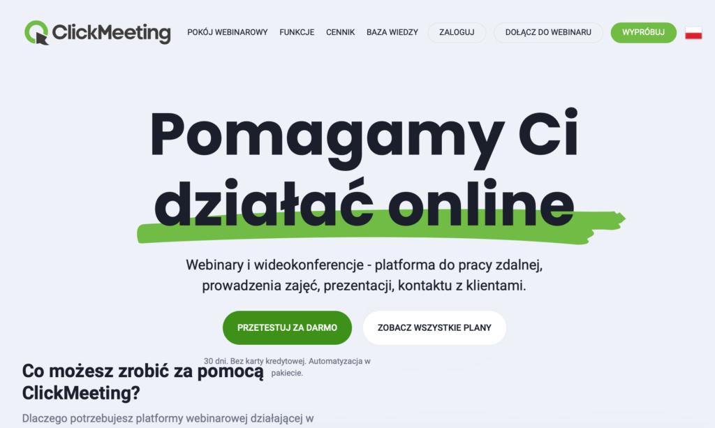 Narzędzia WA: ClickMeeting