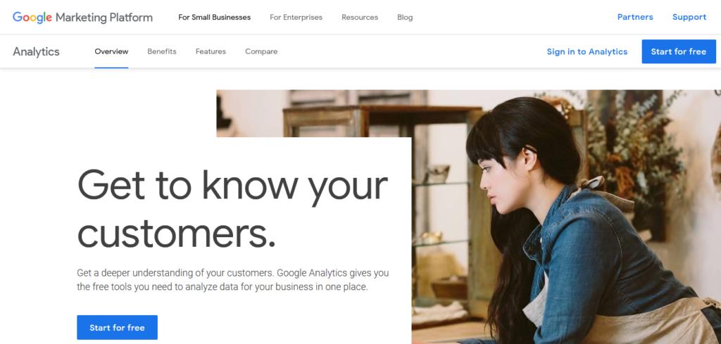 Narzędzia WA: Google Analytics