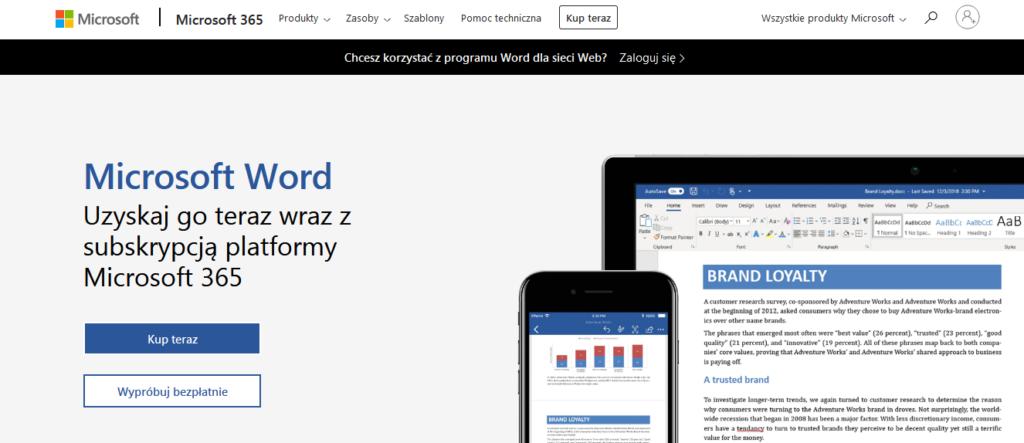 Narzędzia Wirtualnej Asystentki: Word