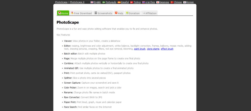 Narzędzia Wirtualnej Asystentki: PhotoScape